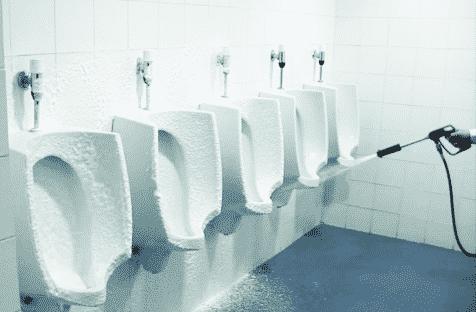 nettoyage urinoirs