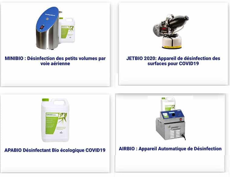 IBL Specifik, matériel de désinfection - réduction de la durée de désinfection