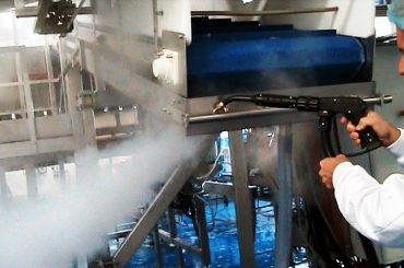 STEAM CLEANING IN THE MARINE INDUSTRY