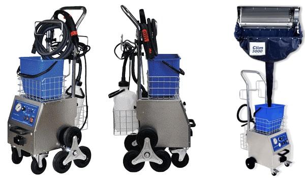 La limpieza del aire acondicionado CLIM 3000 y el sistema de protección de las divisiones SPS