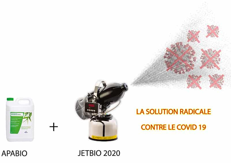 apabio - jetbio 2020 - solution radicale contre covid19