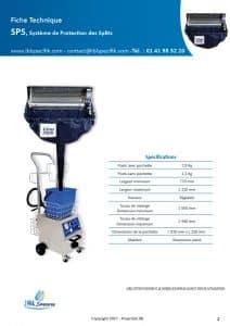Ficha técnica de IBL-Specifik-SPS-clim3000.